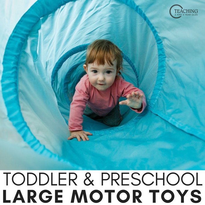 Toys that Help Develop Large Motor Skills