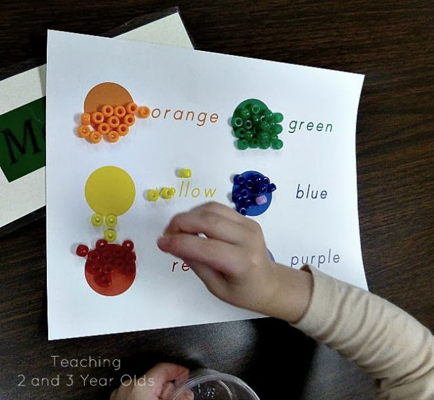 Preschool Color Activities