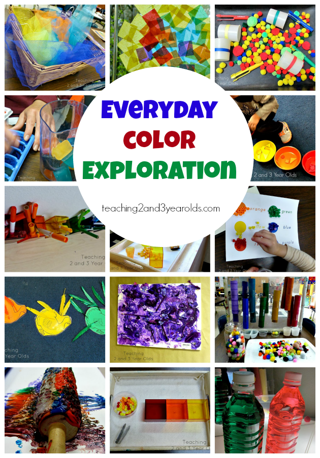 preschool ideas for 2 year olds preschool color activities teaching 2 and 3 year olds 751