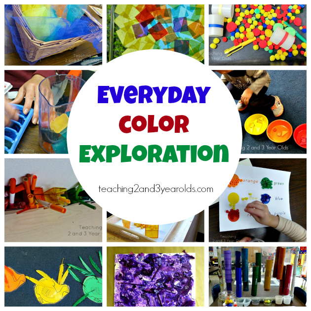 Classroom Ideas For Preschoolers ~ Preschool color activities teaching and year olds