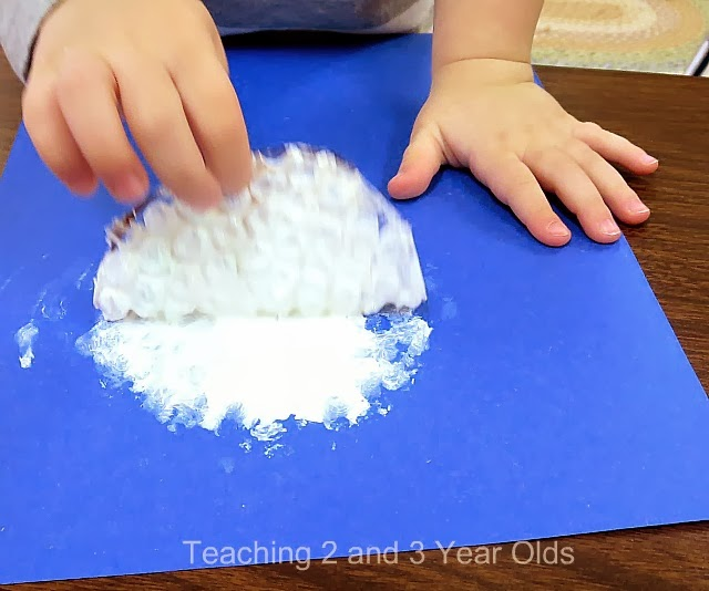 preschool winter art