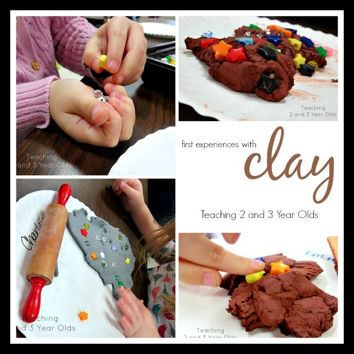Preschool Clay Activities