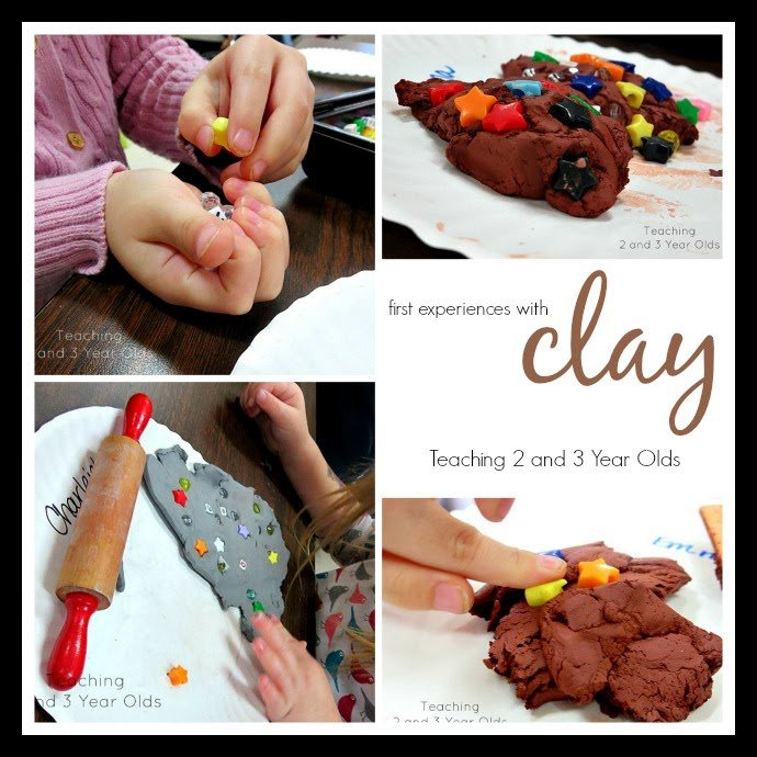 Working with Clay in Preschool