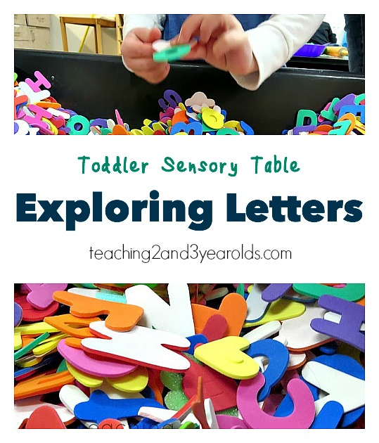 toddler sensory table