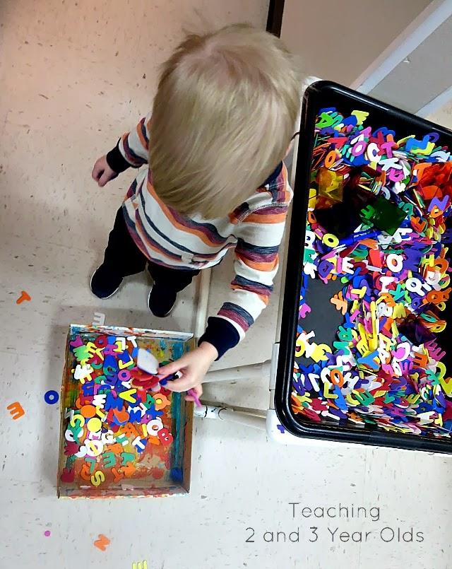 preschool sensory table