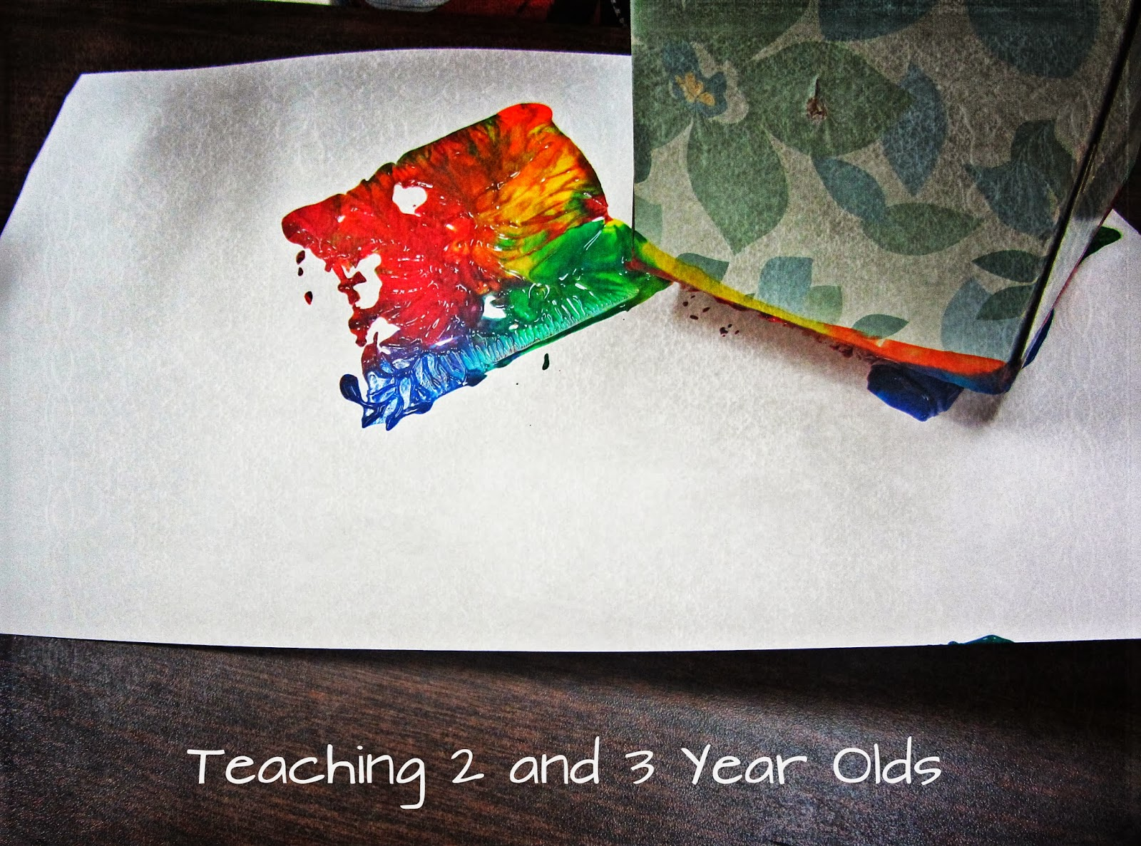 10 Favorite Painting Activities - Teaching 2 and 3 Year Olds