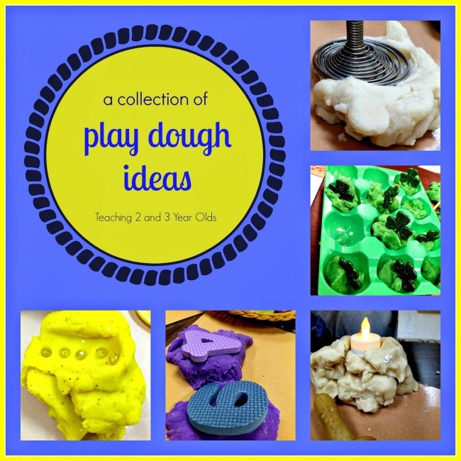 A Collection of Playdough Activities