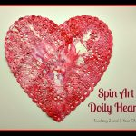 Spin Art Valentines