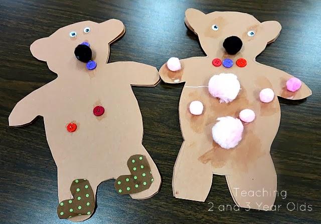 preschool hibernating bears