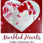 toddler Valentines art