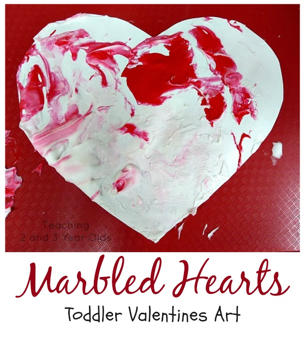 toddler Valentines art