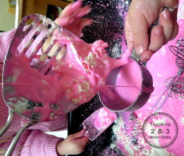 pink goop