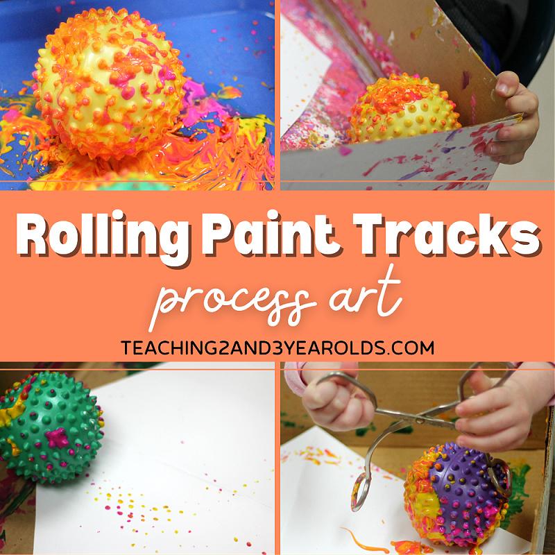 toddler process art activity