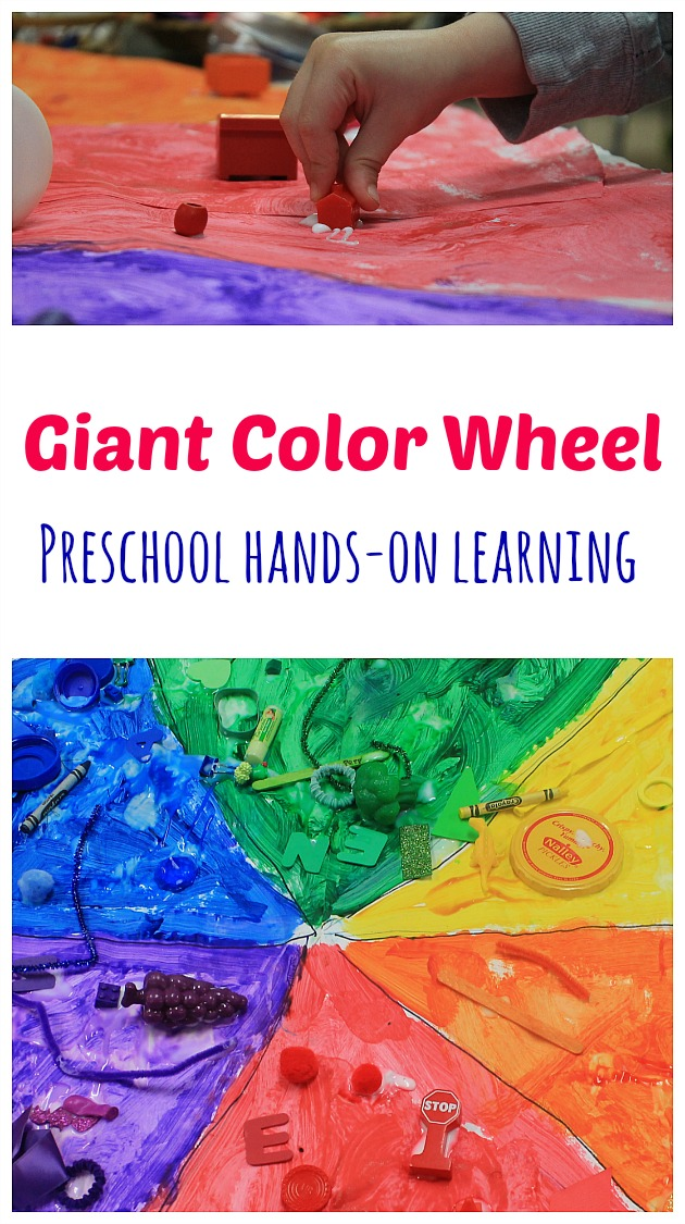 How To Teach Colors Preschoolers