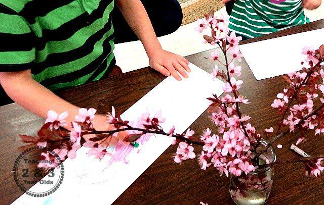 spring art for preschoolers