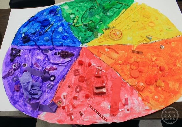 Teaching Colors to Preschoolers