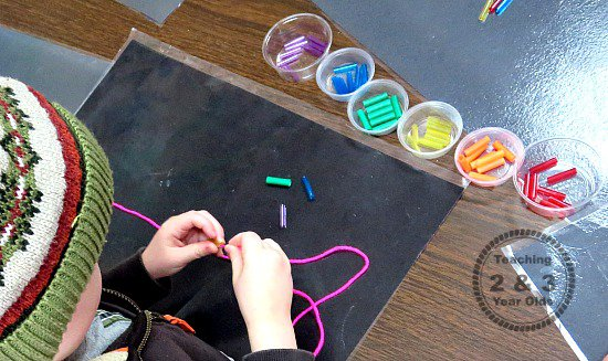 Activity For Fine Motor Skills Teaching 2 And 3 Year Olds