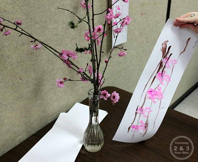 Spring Art For Preschoolers Teaching 2 And 3 Year Olds