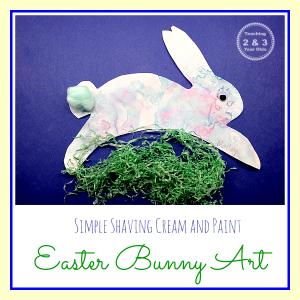 Preschool Easter Bunny Art