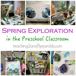 Classroom Ideas for Spring