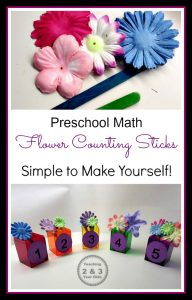 Spring Math Activity for Preschoolers