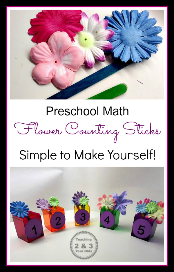 Preschool Counting Activity For Spring