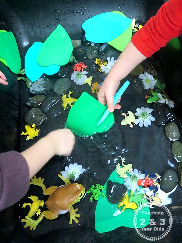Sensory Activities for Spring