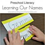 Preschool Literacy Activity