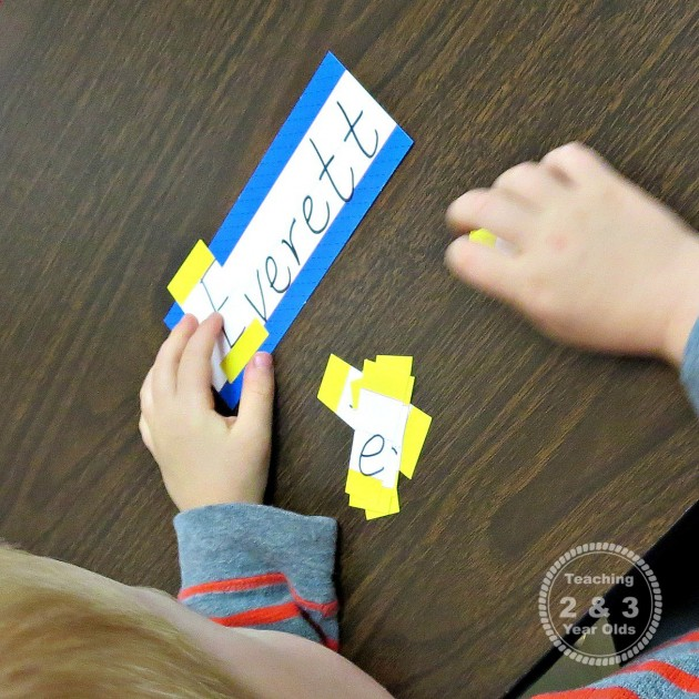 Preschool Literacy Activity