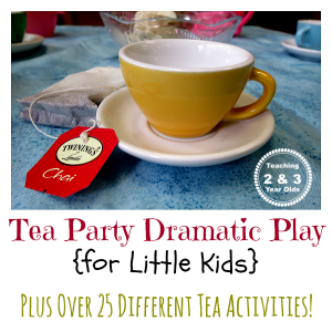 Tea Party Dramatic Play