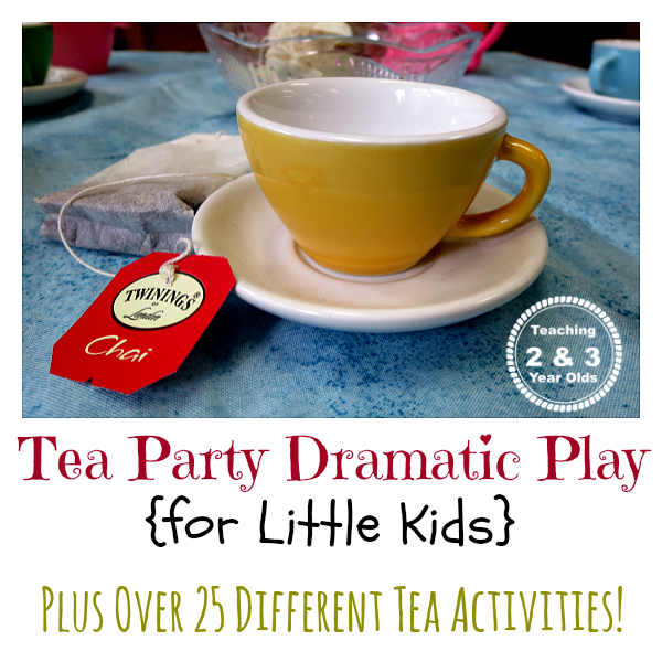tea party play ideas