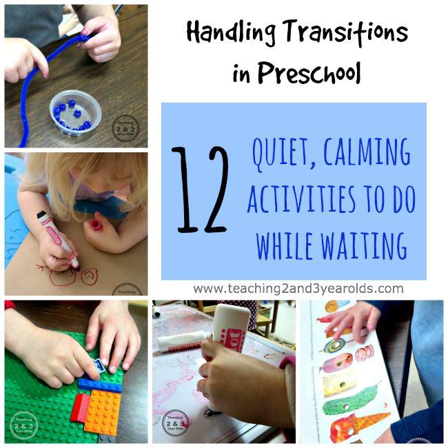 preschool transitions while waiting