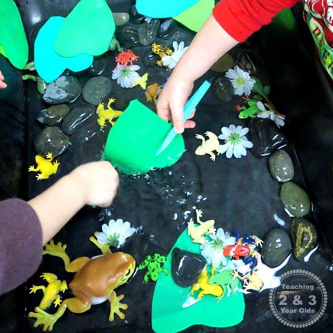 water table activities for preschoolers