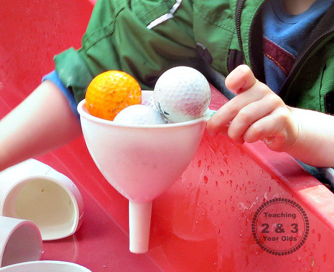 water table activities for preschoolers