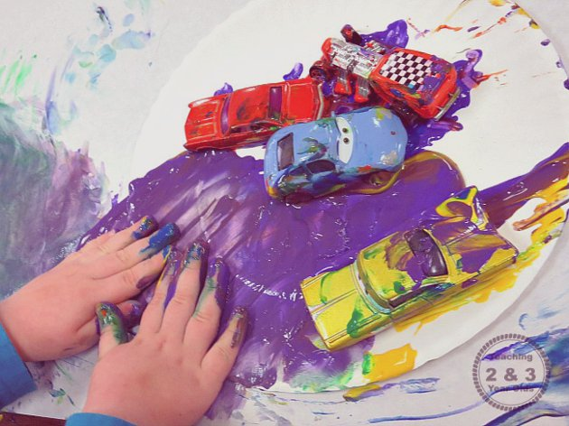 Transportation Art for Preschoolers