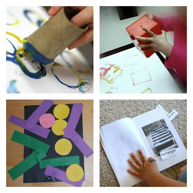 preschool shape activities
