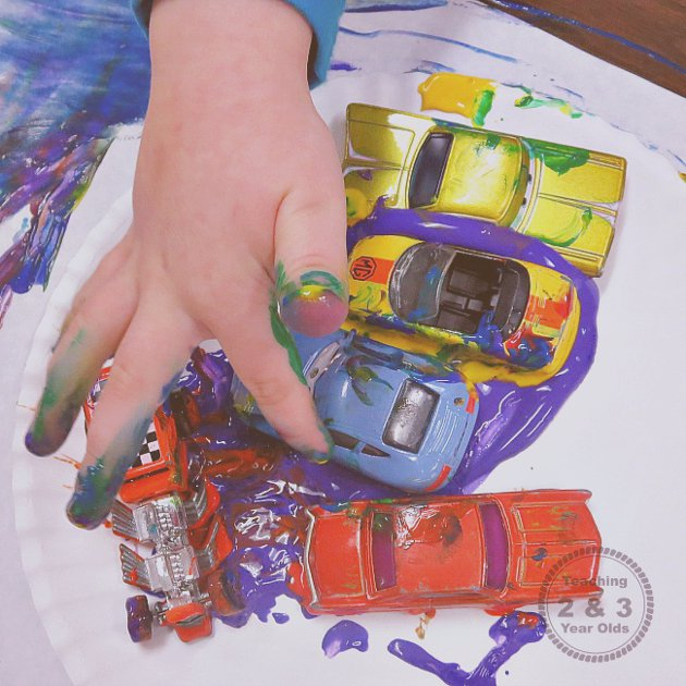 Transportation Art for Preschool