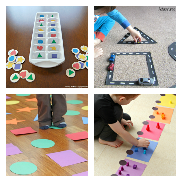 preschool shape activities