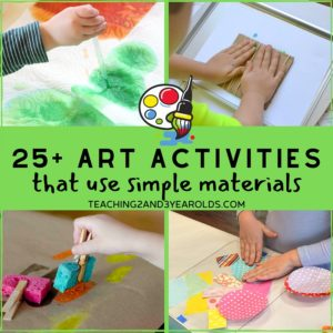25+ Fun Art Activities for Kids Using Few Ingredients