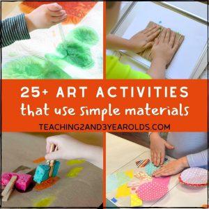 25+ Fun Art Activities for Kids Using Few Ingredients