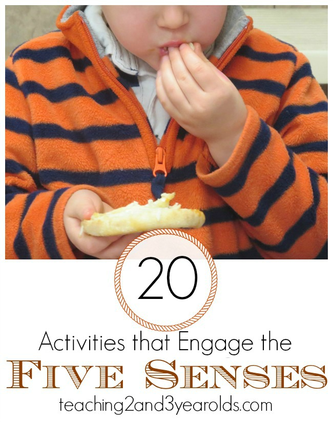 20 Activities that Engage the Five Senses