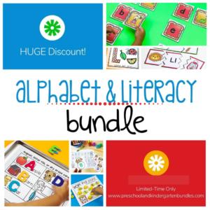 alphabet and literacy bundle