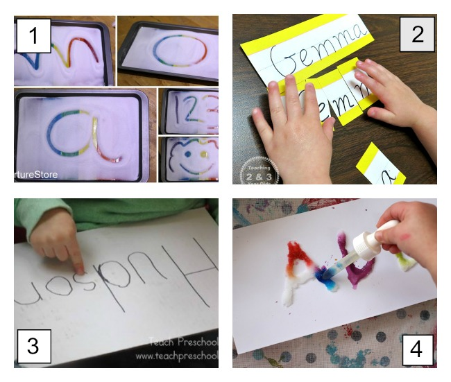 How to Learn Preschool Names with Fun Activities