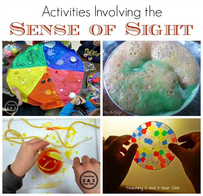 sense of sight activities
