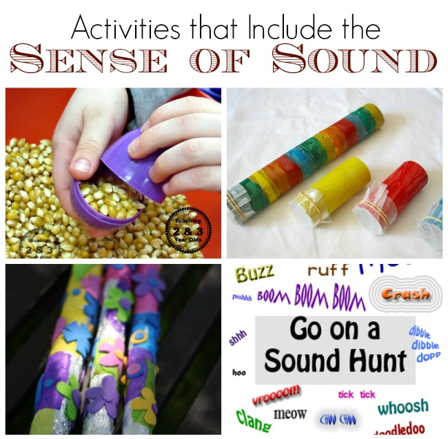 sense of sound activities