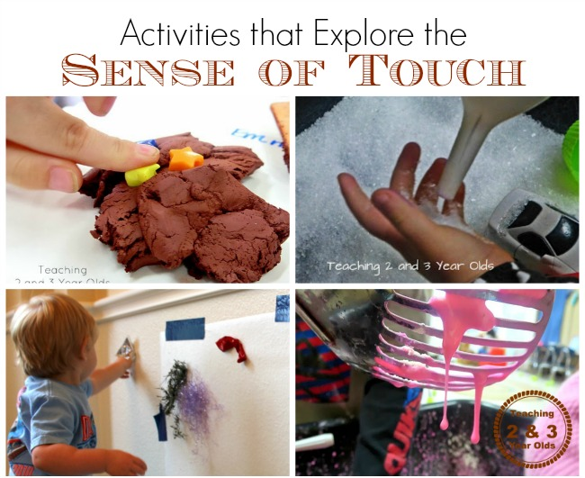 activities that engage the sense of touch