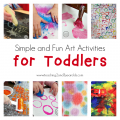 Simple and Fun Art Activities for Toddlers