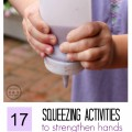 17 squeezing activities to strengthen hands