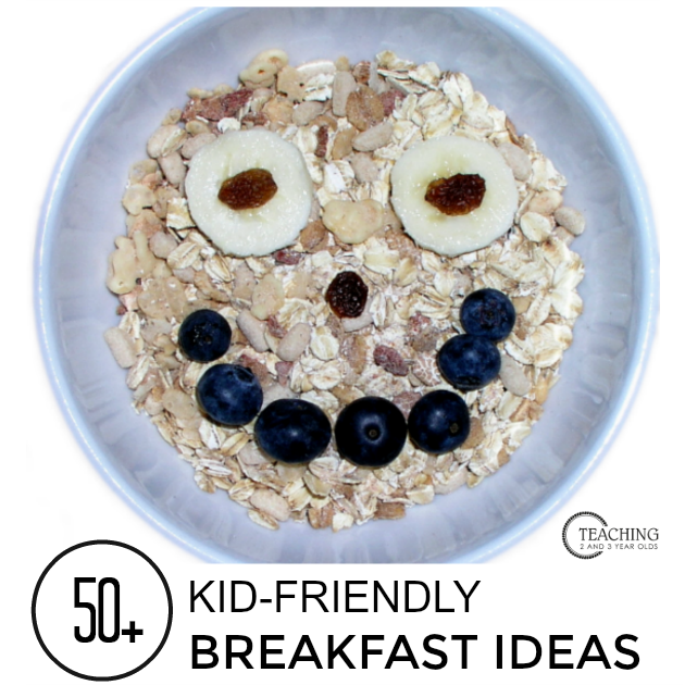 50+ easy breakfast ideas for kids