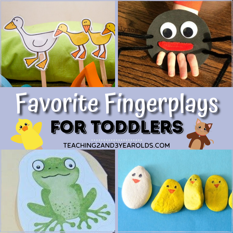 Favorite Preschool Fingerplays